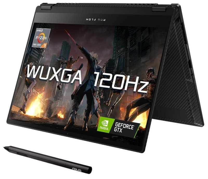 "Image of Asus ROG Flow X13 Ryzen 9 16GB 512GB SSD GTX 1650 13.4"" Win10 Home Gaming Laptop"