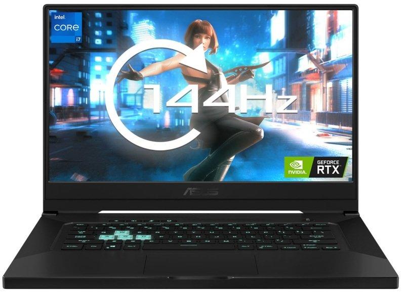 "Asus TUF Dash F15 Core i7 8GB 512GB SSD RTX 3060 15.6"" Win10 Home Gaming Laptop"