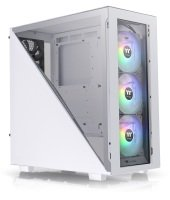 Thermaltake Divider 300 TG Mid Tower Chassis - Snow