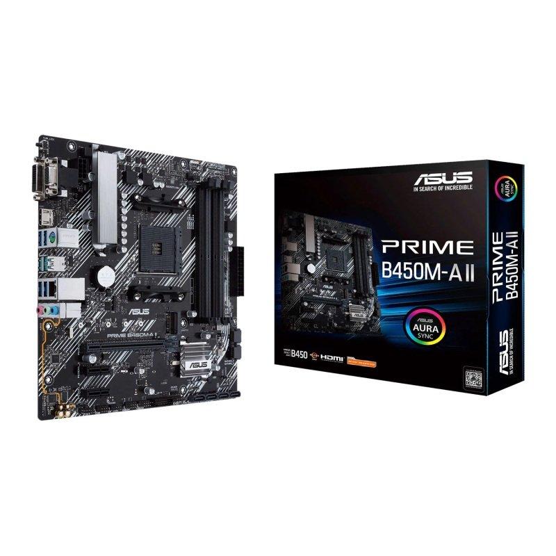 ASUS Ryzen PRIME B450M-A II AM4 mATX Motherboard