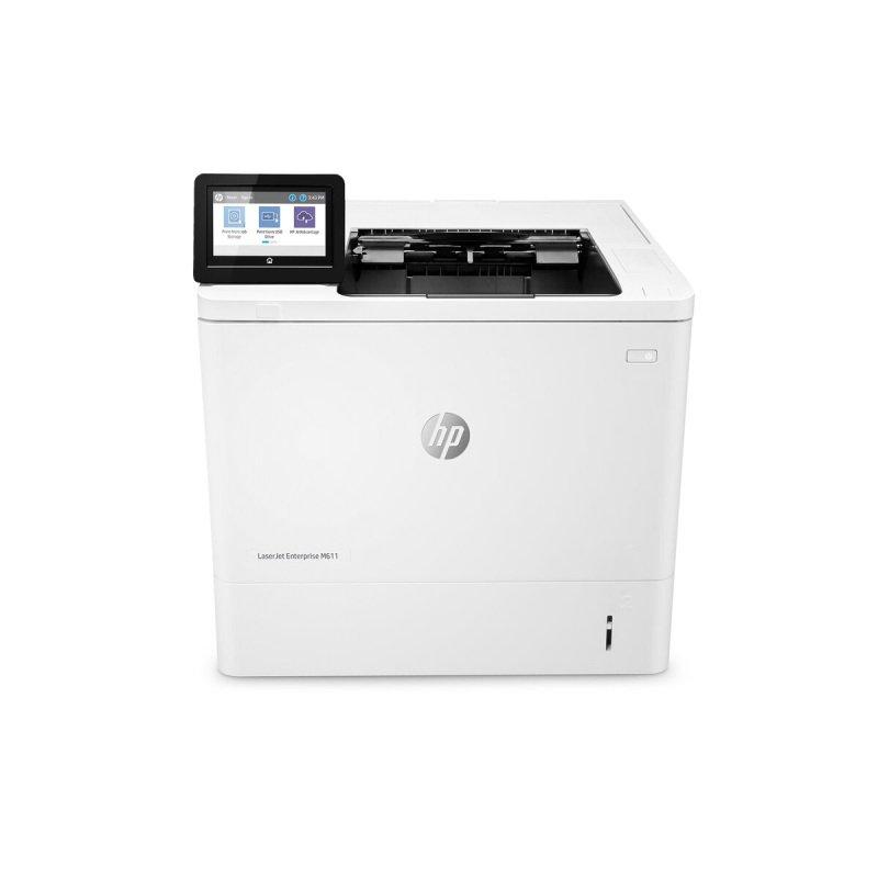 HP LaserJet Enterprise M611dn A4 Mono Laser Printer - Available on HP Print at Your Service