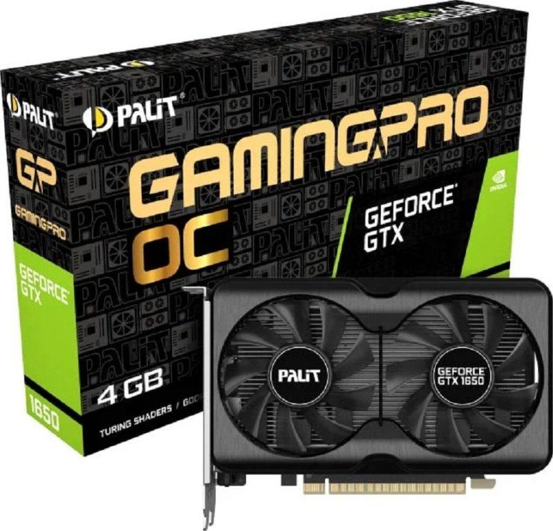 Palit GeForce GTX 1650 Gaming Pro 4GB OC Graphics Card