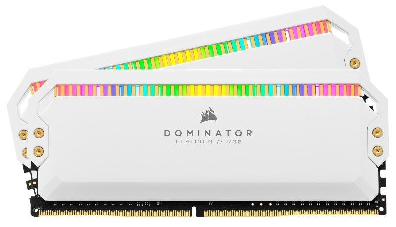 Corsair DOMINATOR Platinum RGB White 16GB 3200MHz DDR4 Memory Kit