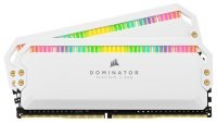 CORSAIR DOMINATOR PLATINUM RGB 16GB (2x8GB) DDR4 3600 (PC4-28800) C18 1.35V Desktop Memory - White