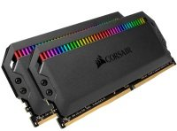 CORSAIR DOMINATOR PLATINUM RGB 16GB (2x8GB) DDR4 3200 (PC4-28800) C16 1.35V AMD Optimized Memory- Black