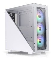 Thermaltake Divider 300 TG Mid Tower Chassis ARGB - Snow