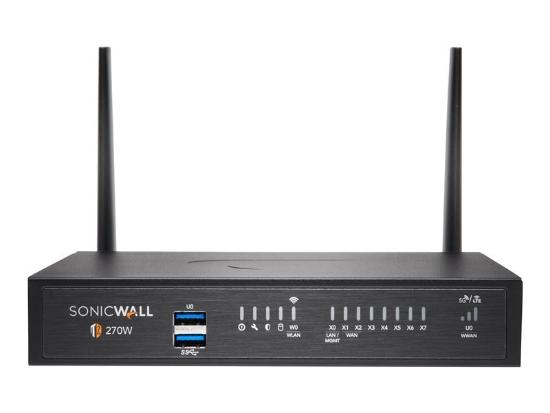 SonicWall TZ270W - Essential Edition - Security Appliance - with 1 Year TotalSecure