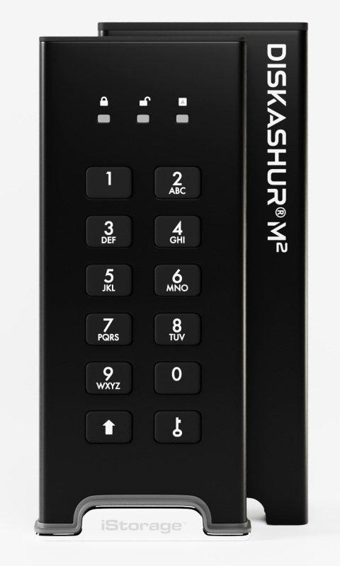 Image of iStorage Diskashur M2 USB3 256-bit 2TB
