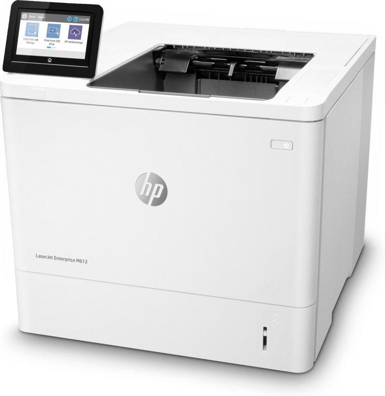 HP LaserJet Enterprise M612dn A4 Mono Laser Printer - Available on HP Print at Your Service