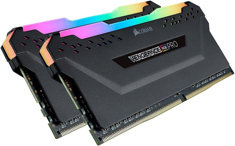 Corsair Vengeance RGB PRO Black 32GB (16GB x 2) 3200MHz DDR4 Memory Kit