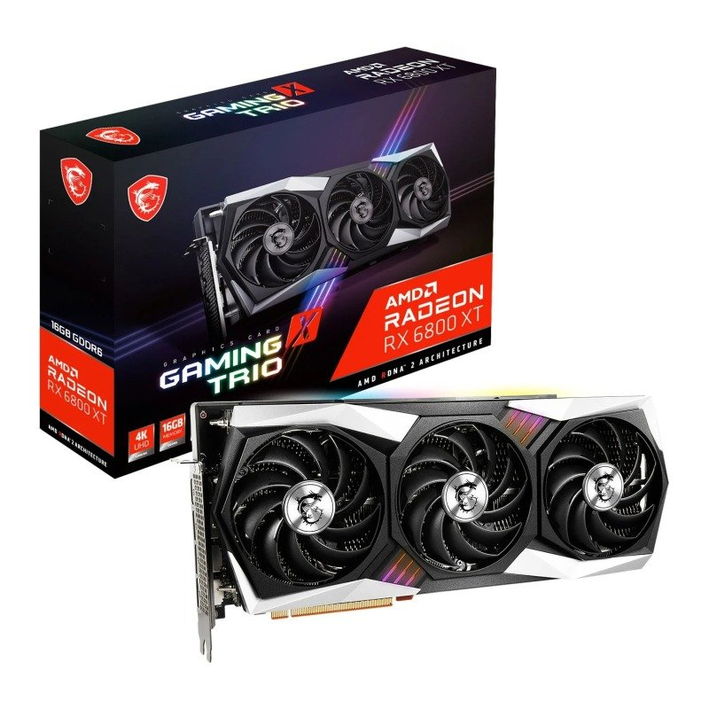MSI Radeon RX 6800 XT GAMING X TRIO 16GB Graphics Card
