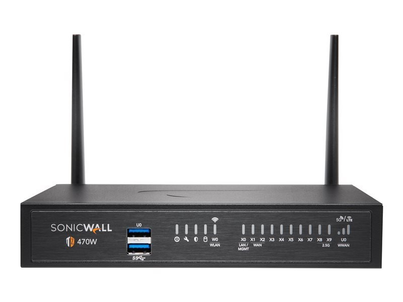 SonicWall TZ470W - Advanced Edition - Security Appliance - with 1 Year TotalSecure