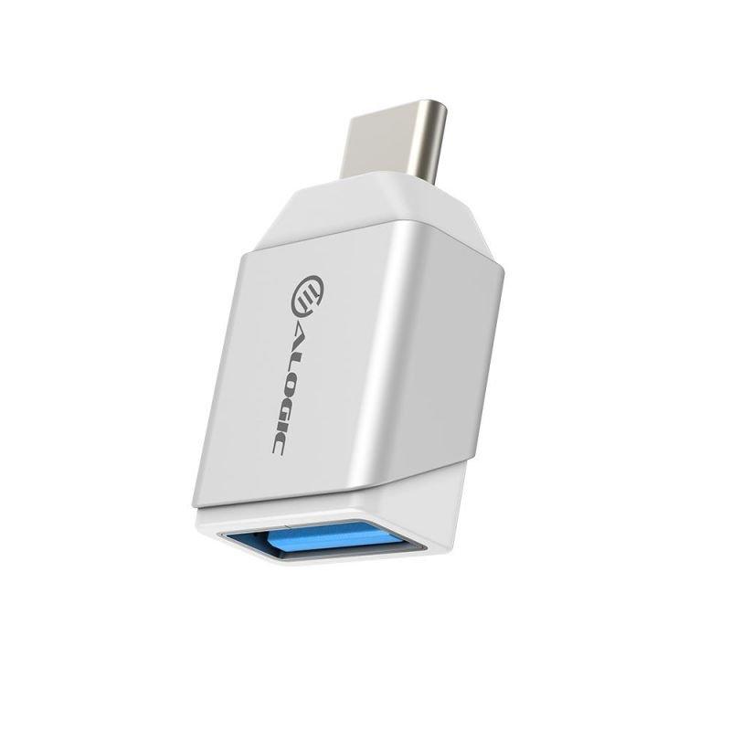 ALOGIC Ultra Mini USB-C to USB-A Adapter -Silver