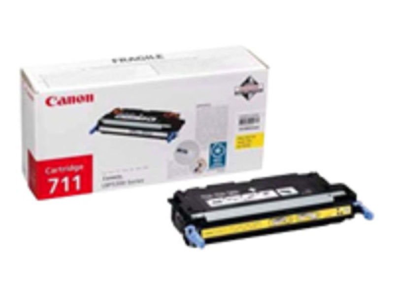 *Canon 711 Yellow Toner cartridge