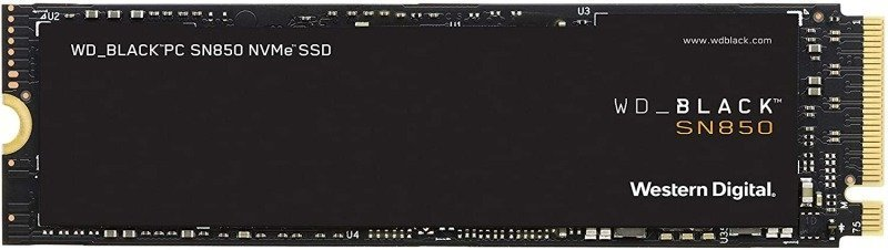 WD Black SN850 500GB M.2 PCIe 4.0 NVMe SSD/Solid State Drive