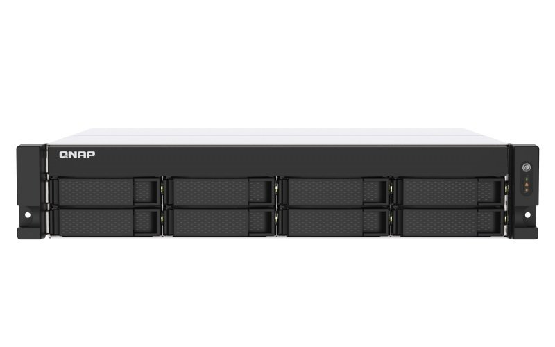 QNAP TS-873AU-RP-4G 8 Bay Rack Enclosure with 4GB RAM
