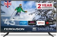 """Ferguson F4320RTS4K 43"""" Smart 4K Ultra HD LED TV with Streaming apps and Catch up TV built-in"""