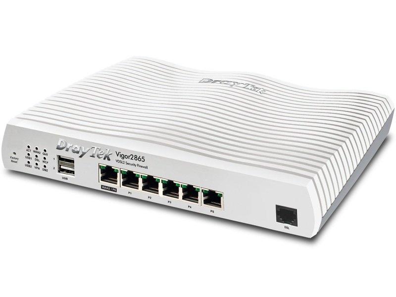 DrayTek Vigor2865 - VDSL2 35b/ADSL2+ Security Firewall Router