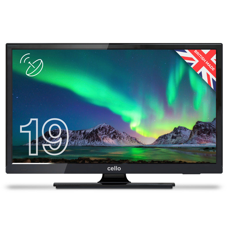 Cello C1920S 19 HD Ready LED TV with Freeview T2 HD and Satellite