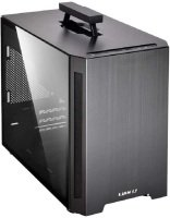 Lian-Li PC-TU150WX Aluminium Mini-ITX Case - Black Window