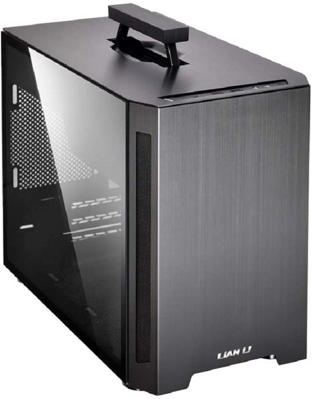 Lian-Li PC-TU150WX Aluminium Mini-ITX Case - Black Window