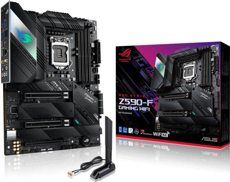 ASUS ROG STRIX Z590-F GAMING WIFI ATX Motherboard