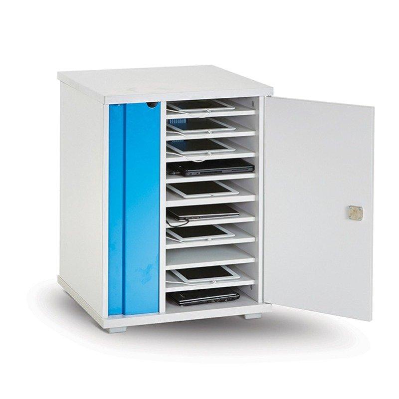 Lapcabby Lyte Single Door 16 Metal Shelf Static Unit
