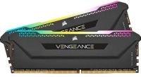 CORSAIR VENGEANCE RGB PRO 16GB (2x8GB) DDR4 3600 (PC4-28800) C18 1.35V Desktop Memory - Black