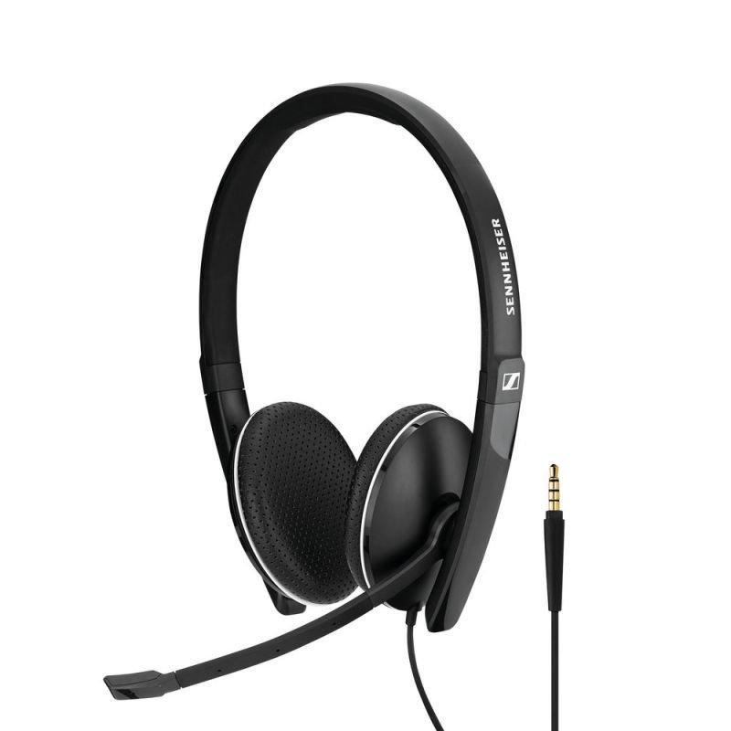 Sennheiser USB SC165 Binaural Headset Black