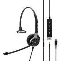Sennheiser SC635 Dual USB/3.5mm Monaural Headset