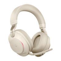Jabra Evolve2 85 380a MS Stereo Headset Beige