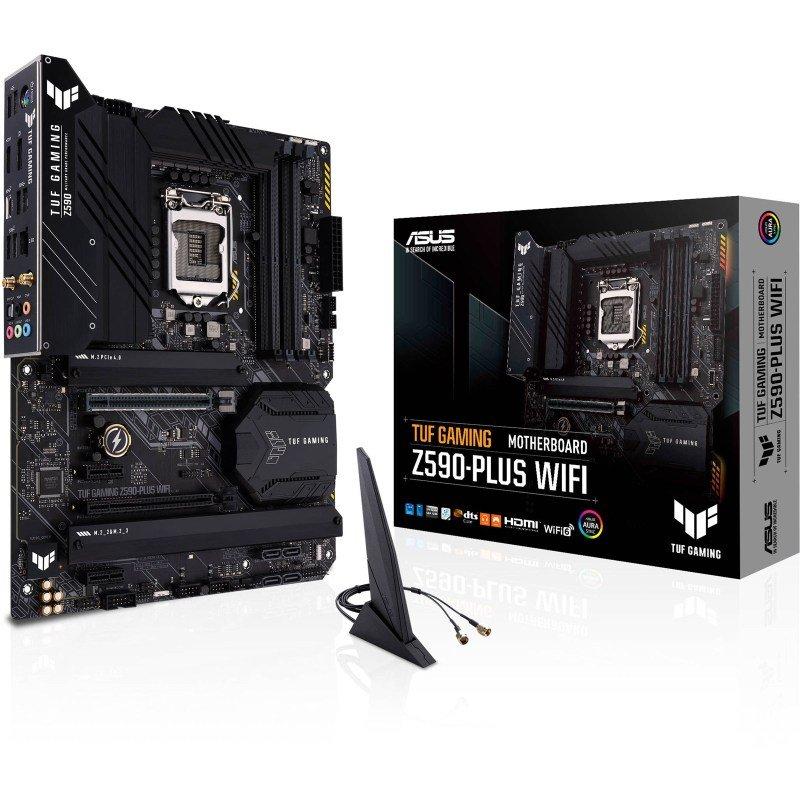 ASUS TUF GAMING Z590-PLUS WIFI ATX Motherboard