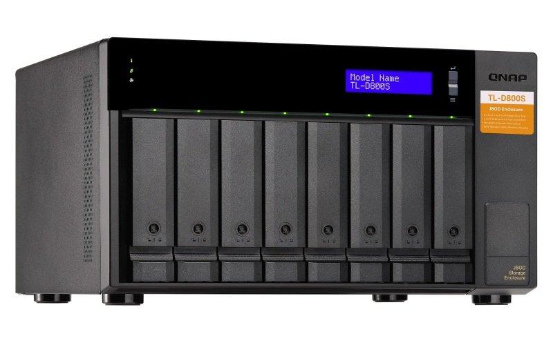 QNAP TL-D800S 8 Bay Desktop JBOD Storage Enclosure