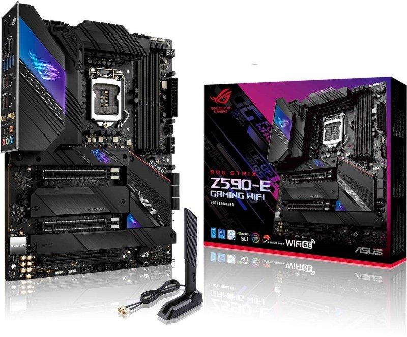 ASUS ROG STRIX Z590-E GAMING WIFI ATX Motherboard