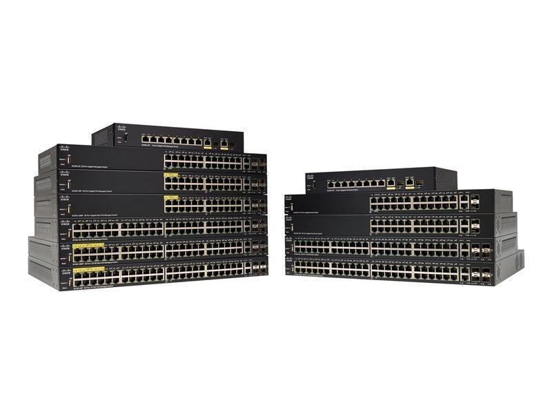 EXDISPLAY Cisco 250 Series SG350-10SFP 10 Port Managed Switch