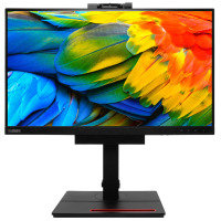 "Lenovo ThinkCentre Tiny-in-One 24"" Monitor with usb 3.1 hub and webcam"