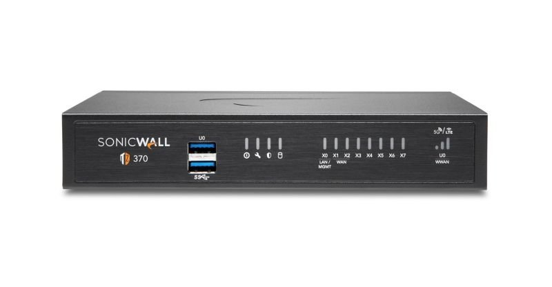SonicWall TZ370 Secure Upgrade Plus - Essential Edition 3 Years