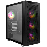 Neutron Lab Fuzion W07 ARGB Gaming Case - Tempered Glass