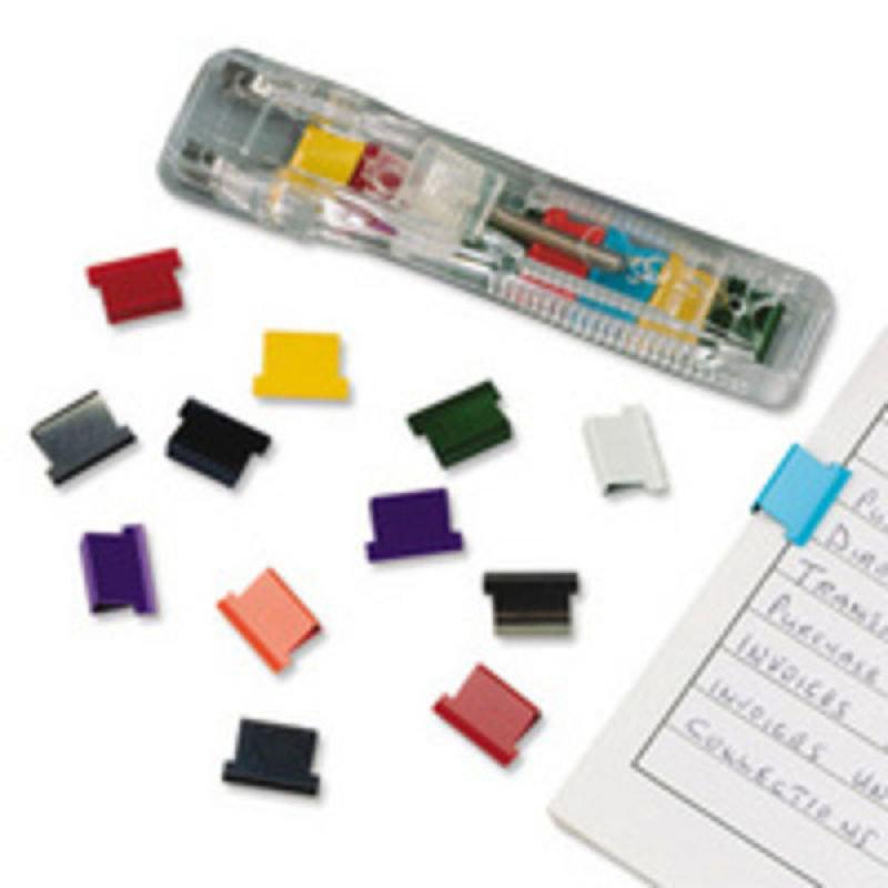 Rapesco Supaclip® 40 See Through Dispenser & 25 Multi Coloured Clips