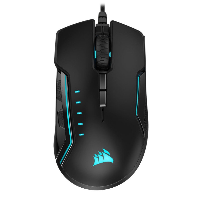 EXDISPLAY Corsair RGB GLAIVE PRO Gaming Mouse Black