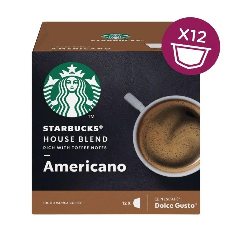 Nescafe Dolce Gusto Starbucks House Americano (Pack of 36) 12397697