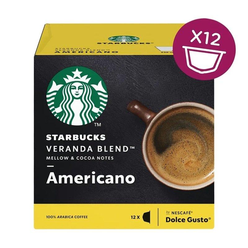STARBUCK Blonde Veranda Americano Capsule 12397698 Pack 36