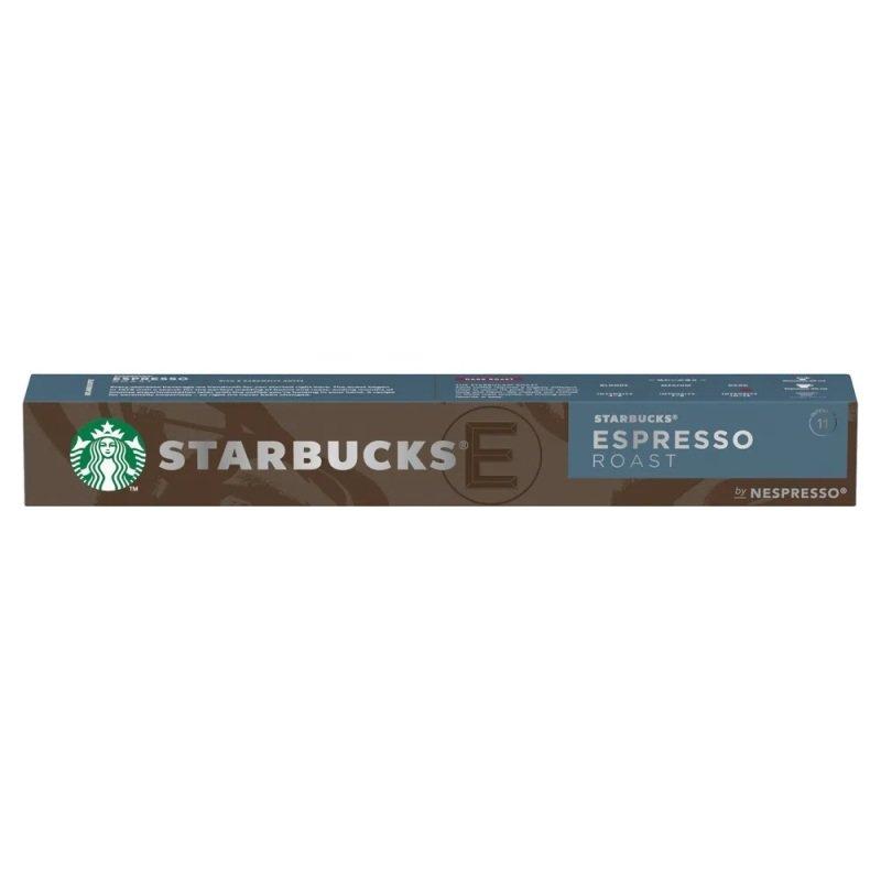 Nespresso Starbucks Espresso Roast Coffee Pods (Pack of 10) 12423393