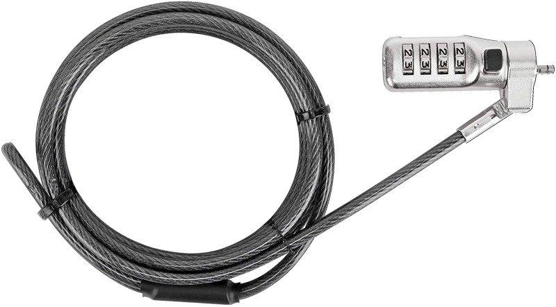 Targus 3-in-1 Coiled Combin Lock