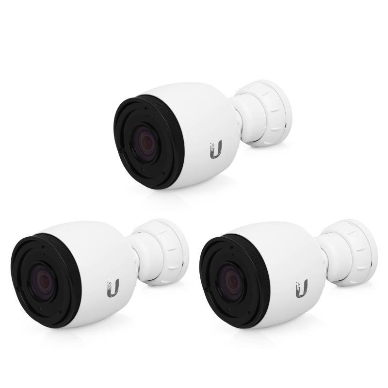 1080p Outdoor Bullet Camera With Optical Zoom And Ir Leds (3 Pack)