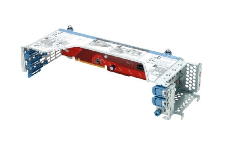 HPE 4-Port 8 NVMe Slim SAS Secondary Riser - Riser Card