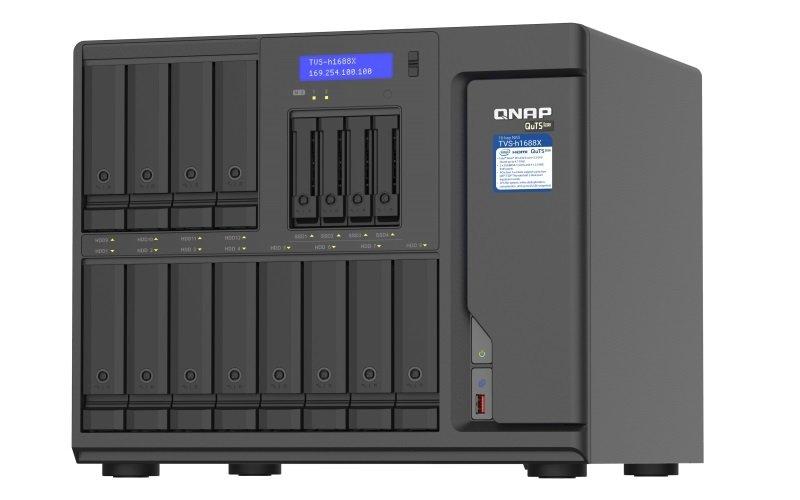 QNAP TVS-h1688X-W1250-32G 16 Bay Desktop NAS Enclosure with 32GB RAM