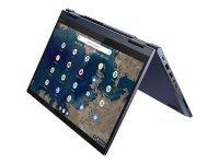 "Lenovo ThinkPad C13 Yoga Gen 1 Chromebook AMD Ryzen 3 3250C 4GB RAM 128GB SSD 13.3"" Full HD Touchscreen Chrome OS 2-in-1 Convertible Laptop - 20UX000FUK"