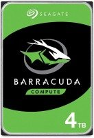 "Seagate BarraCuda 4TB Desktop Hard Drive 3.5"" SATA III 6GB's 5400RPM 256MB Cache"