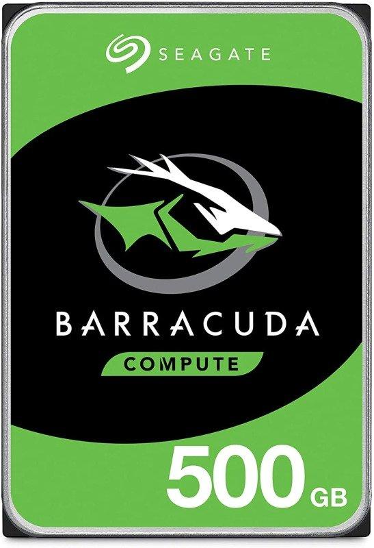 """Seagate BarraCuda 500GB Desktop Hard Drive 3.5"""" 7200RPM 32MB Cache"""